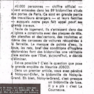 Extrait France Soir 23 octobre 1965